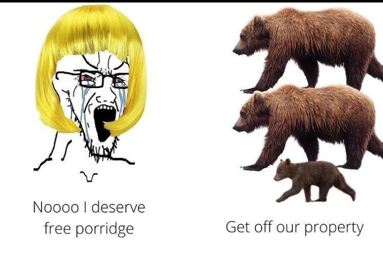 sojak Goldilocks - meme