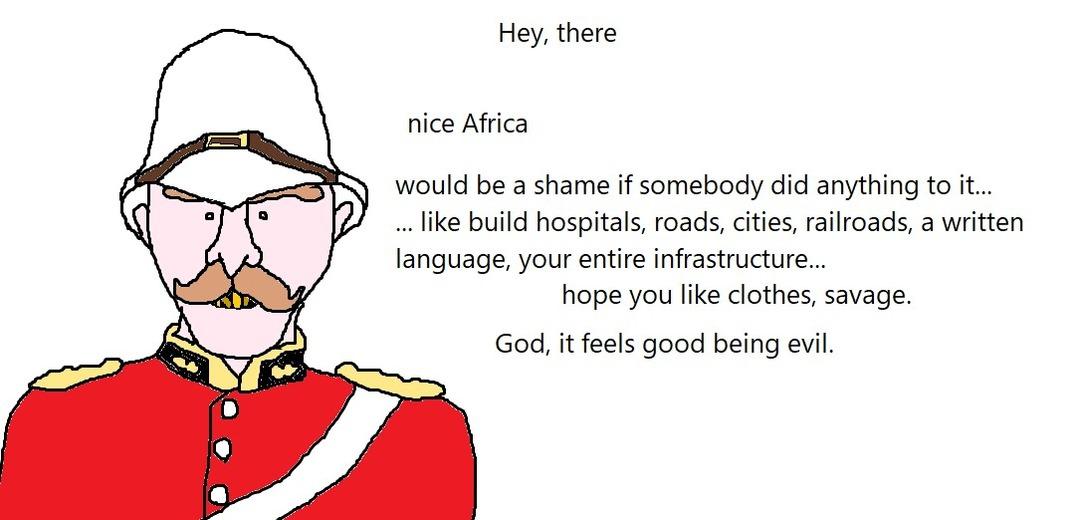Poor Africa - meme