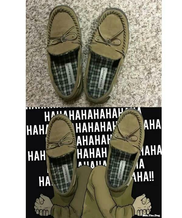 Ridens shoes - meme