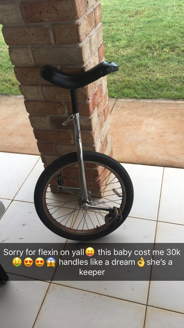 this is my unicycle - meme