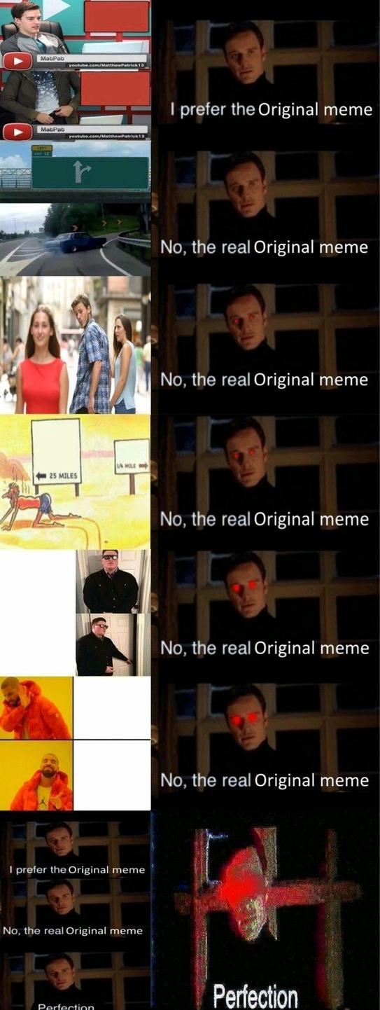 P E R F E C T - meme