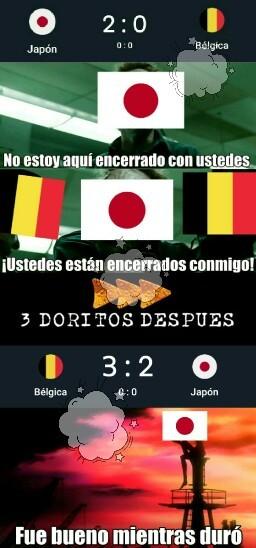 Pobre Japón al menos lo intento - meme