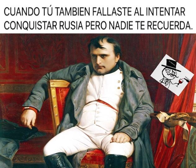 Pobre Napoleón. - meme