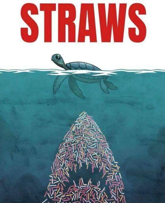 Plastic is the new danger of the oceans - meme