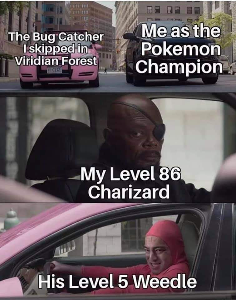 Gen 1 banter - meme