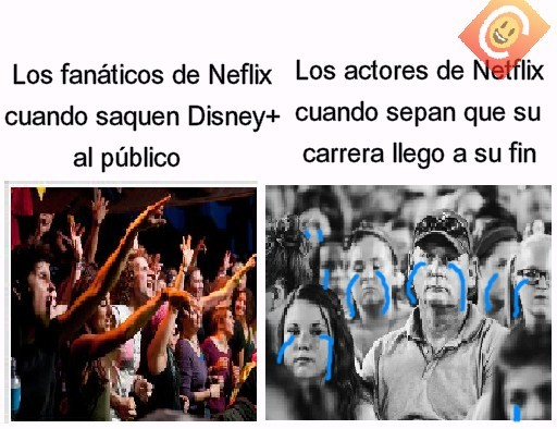 NETFLIX vs Disney+ - meme