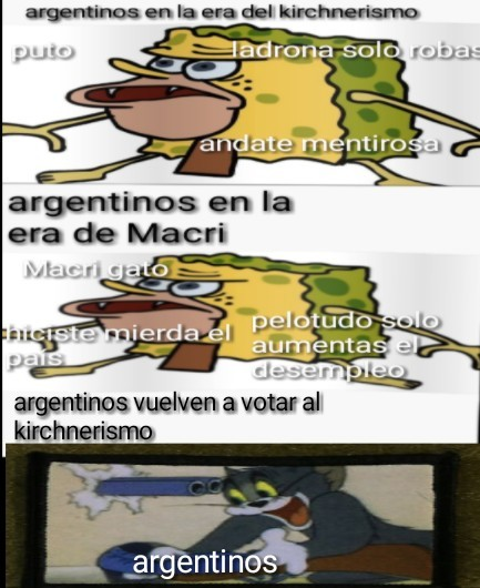 argentinos xD pd:soy argentino - meme