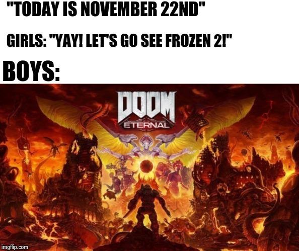 November right now - meme