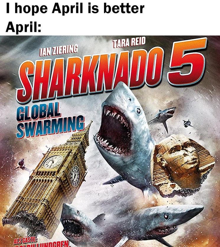 sharknado 5 - meme
