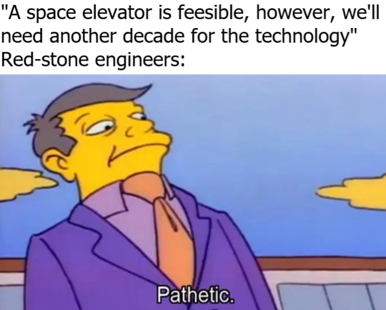 let Minecraft take over NASA - meme
