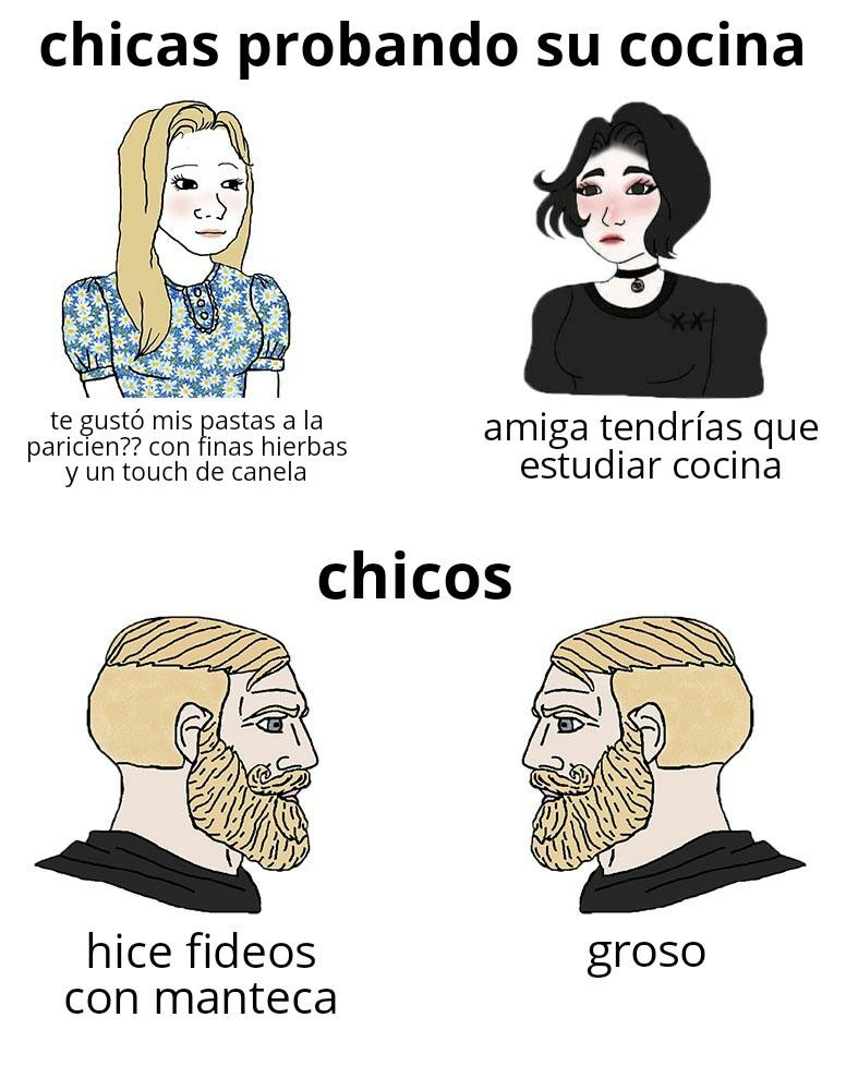 Fideos - meme