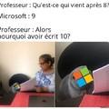 Quelque chose à ajouter, Microsoft ?