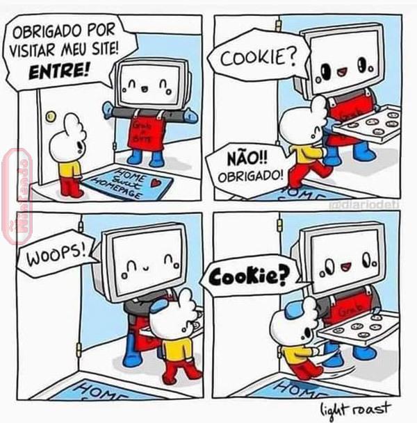 Cookie é bom - meme