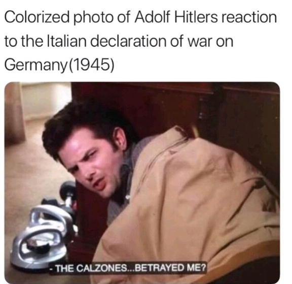 Hitler be asshole - meme