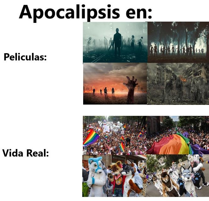 aveces el fin del mundo se torna una esperanza - meme