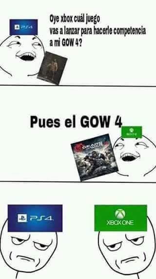Quien Jugará GOW 4? - meme