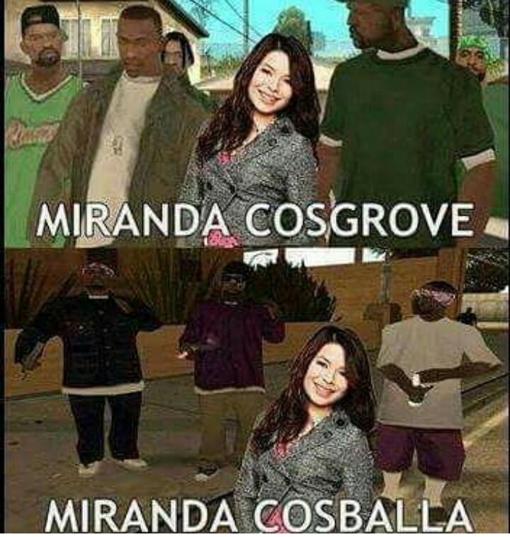 Miranda costosa - meme
