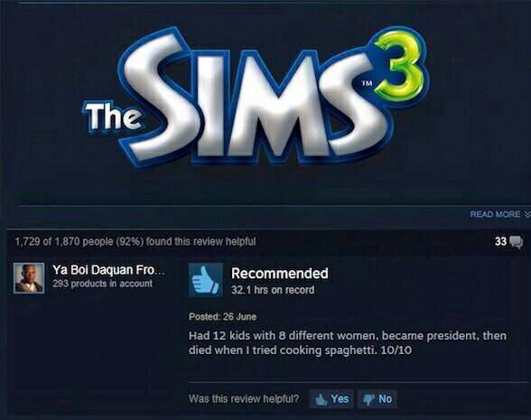 I am sim - meme