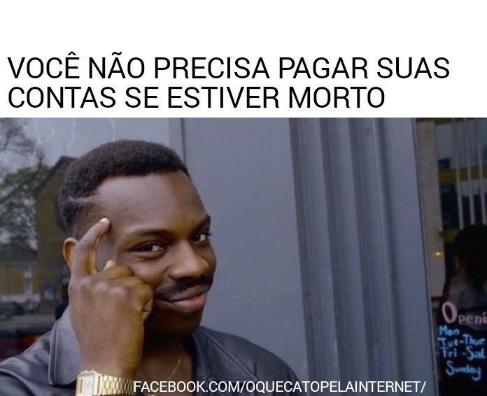 Solução dos problemas - meme