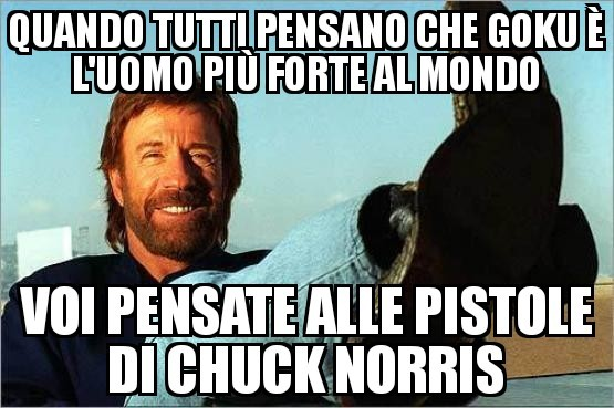 Eh già, Chuck è invincibile - meme
