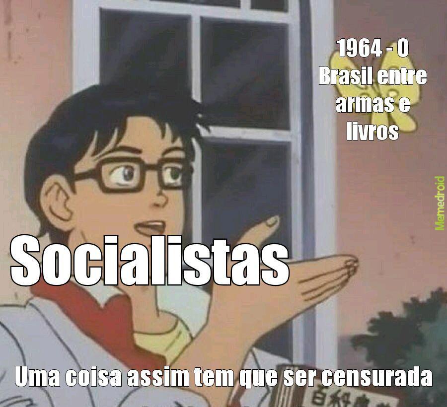 Documentario rico em informações. Brasil Paralelo - meme
