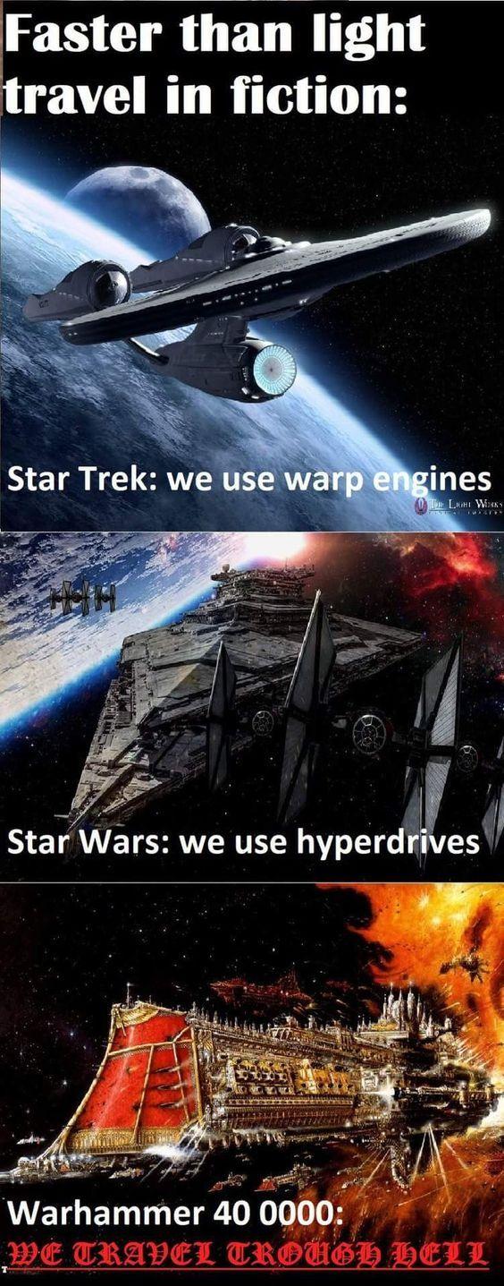 only true Sci-fi fans will know - meme