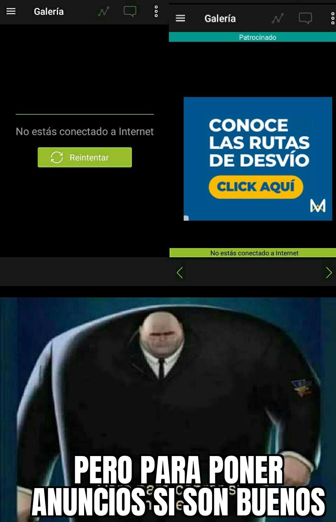 Memes no hay, pero anuncios sobran :deskflip: