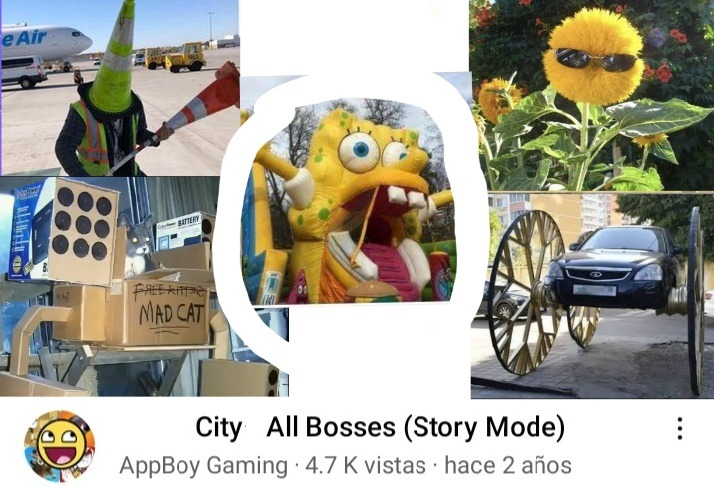 City All Bosses - meme