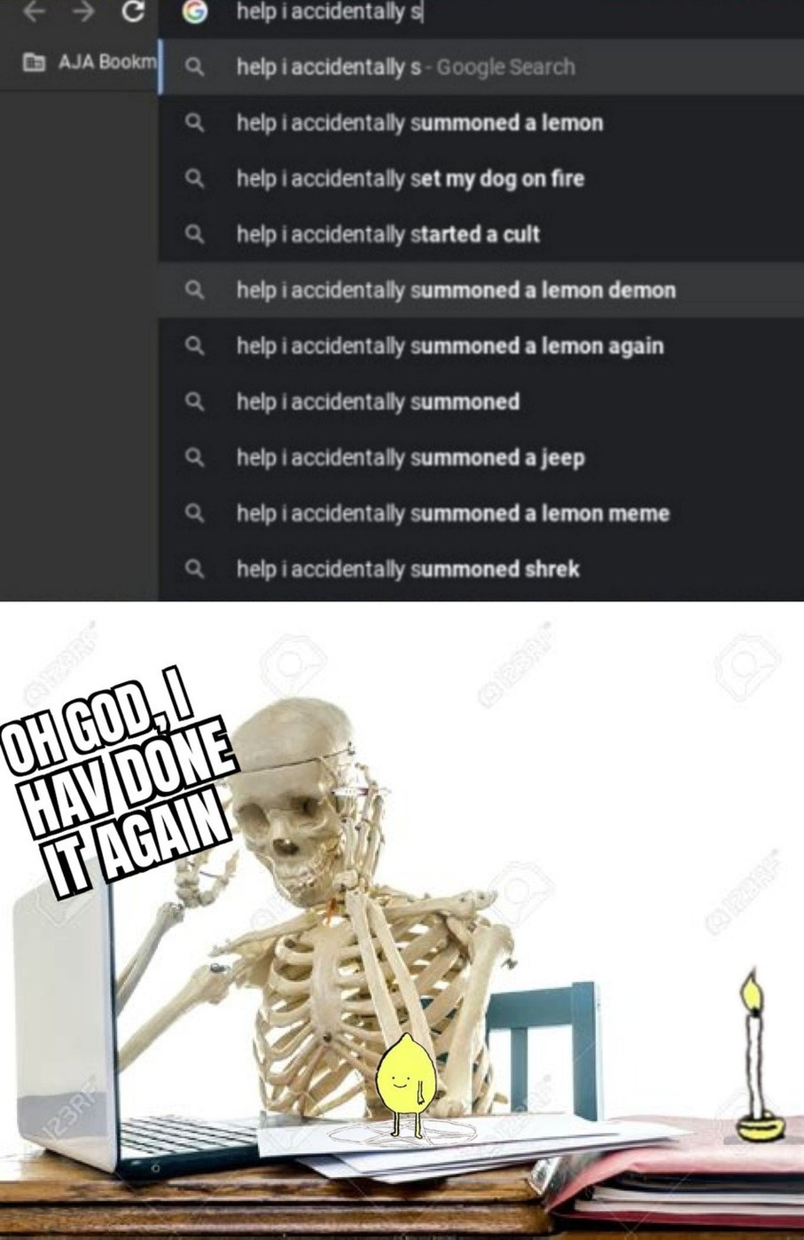 lemon demon - meme
