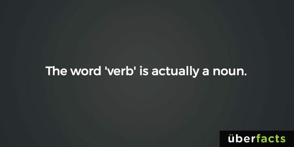Image result for nouns verbs meme