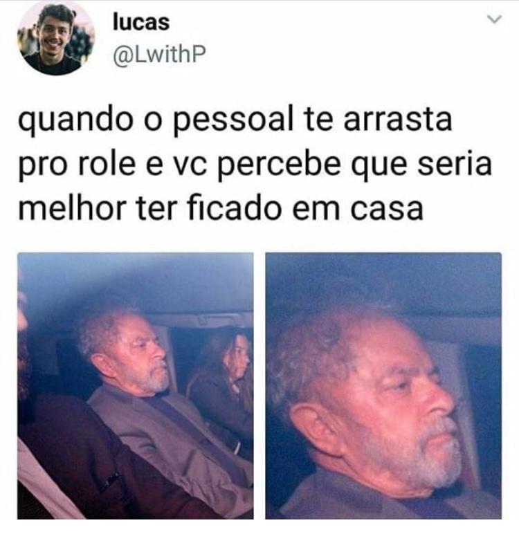 Luladrão roubou meu coração <3 - meme