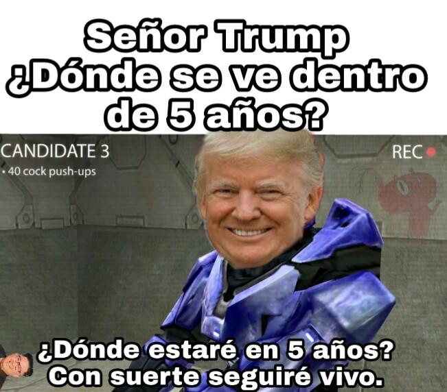 Trump. - meme