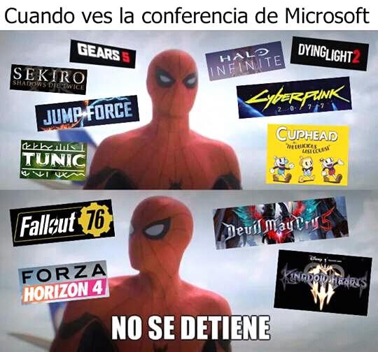Micro win E3 - meme