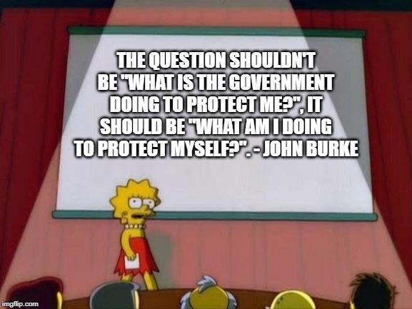 John Burke quote - meme
