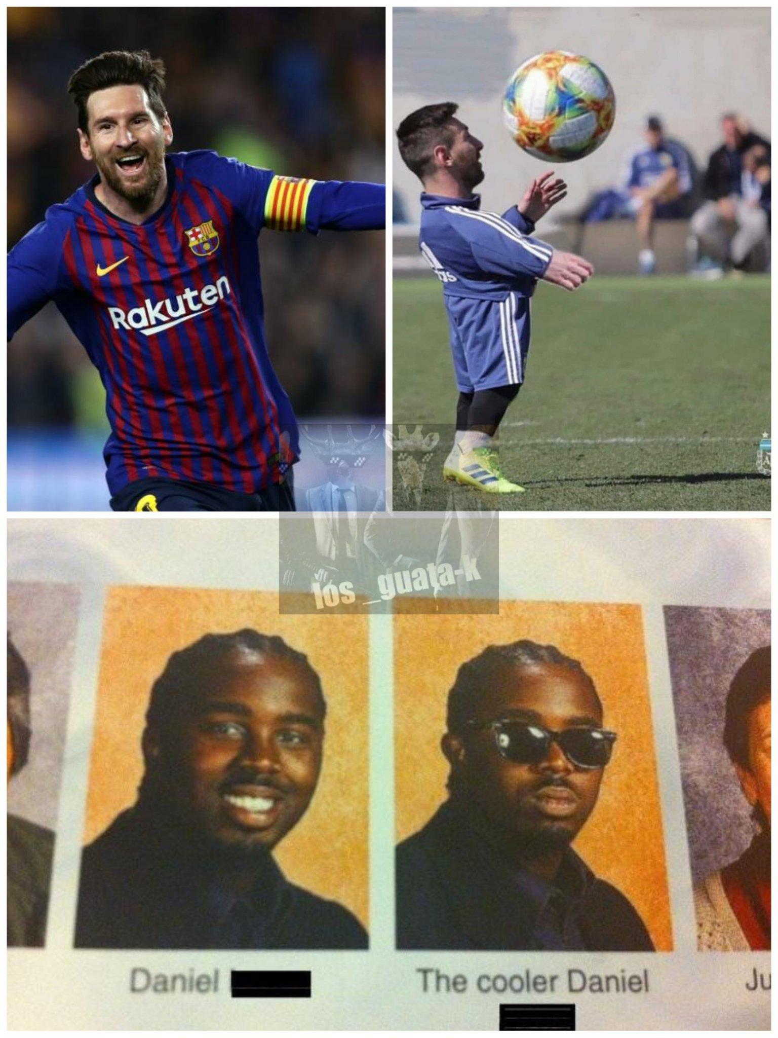 Messi chiquito - meme