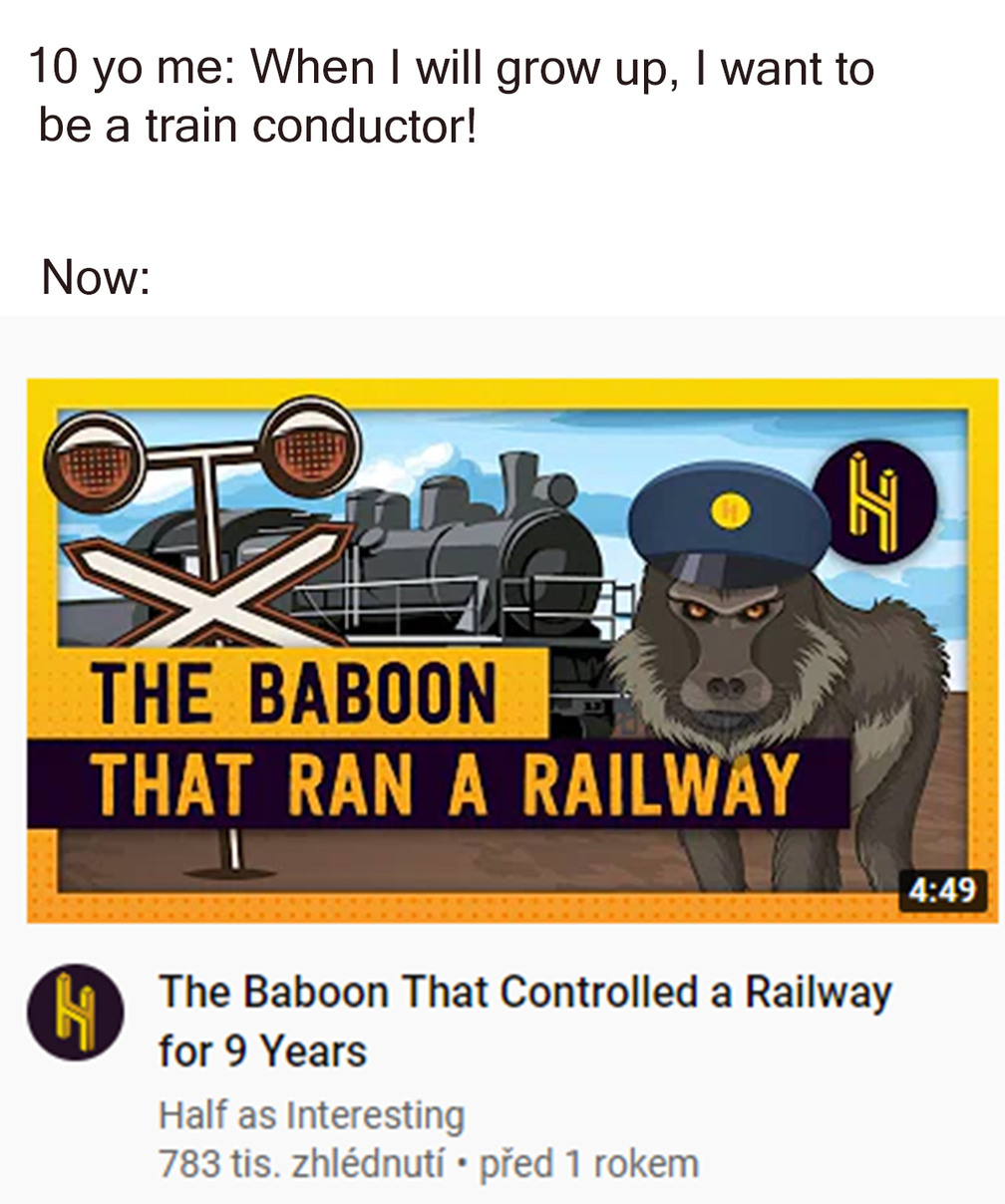 Train conductor - meme