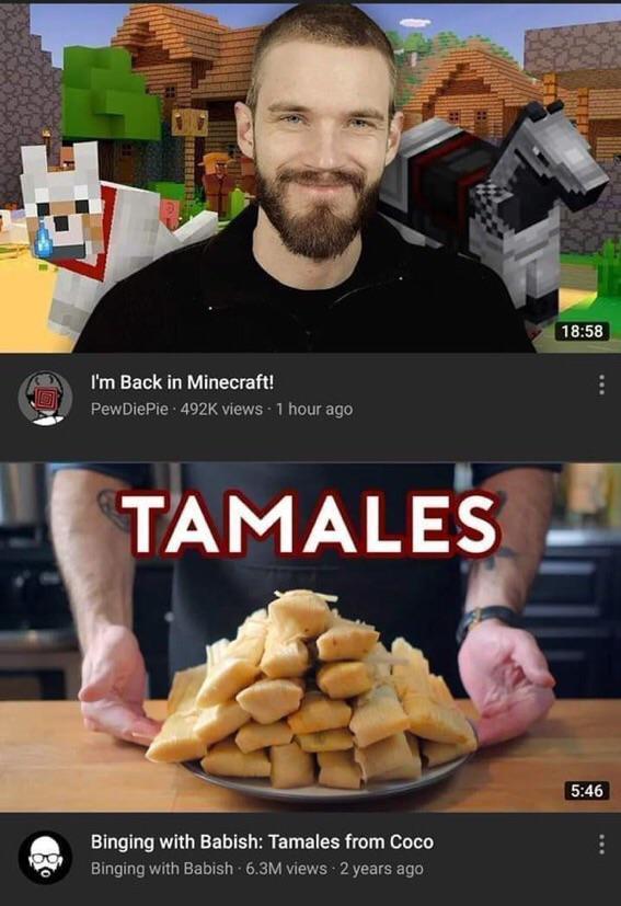 TAMALES - meme