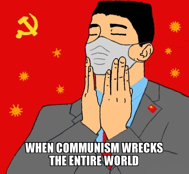 China did the Coronavirus - meme