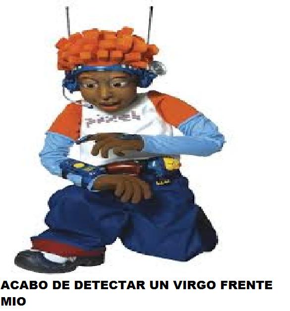 Pixel El Detector de Virgos - meme