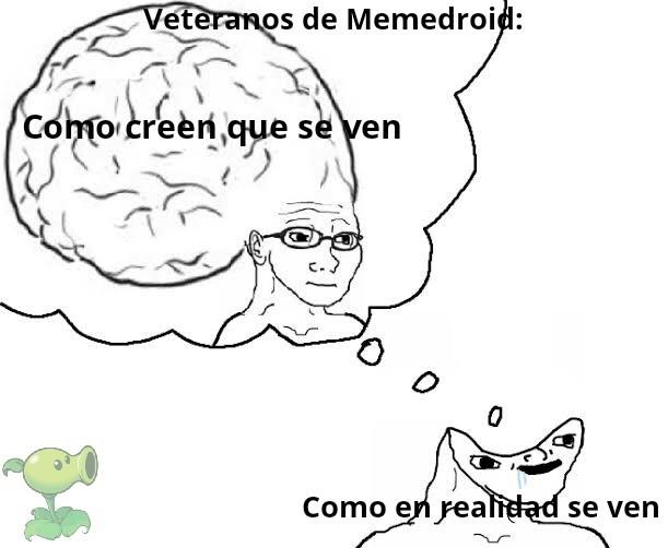 Si soy un veterano soy más inteligente :genius: - meme