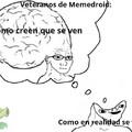 Si soy un veterano soy más inteligente :genius: