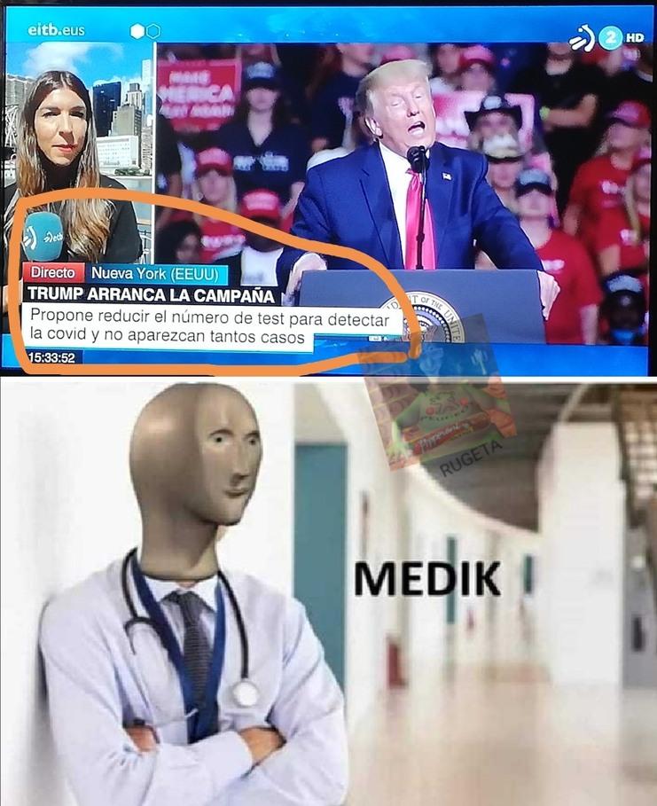 Trump the medik - meme