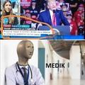 Trump the medik