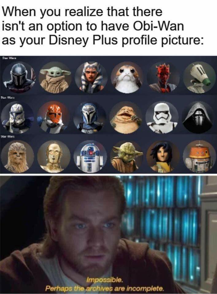 Disney+ - meme