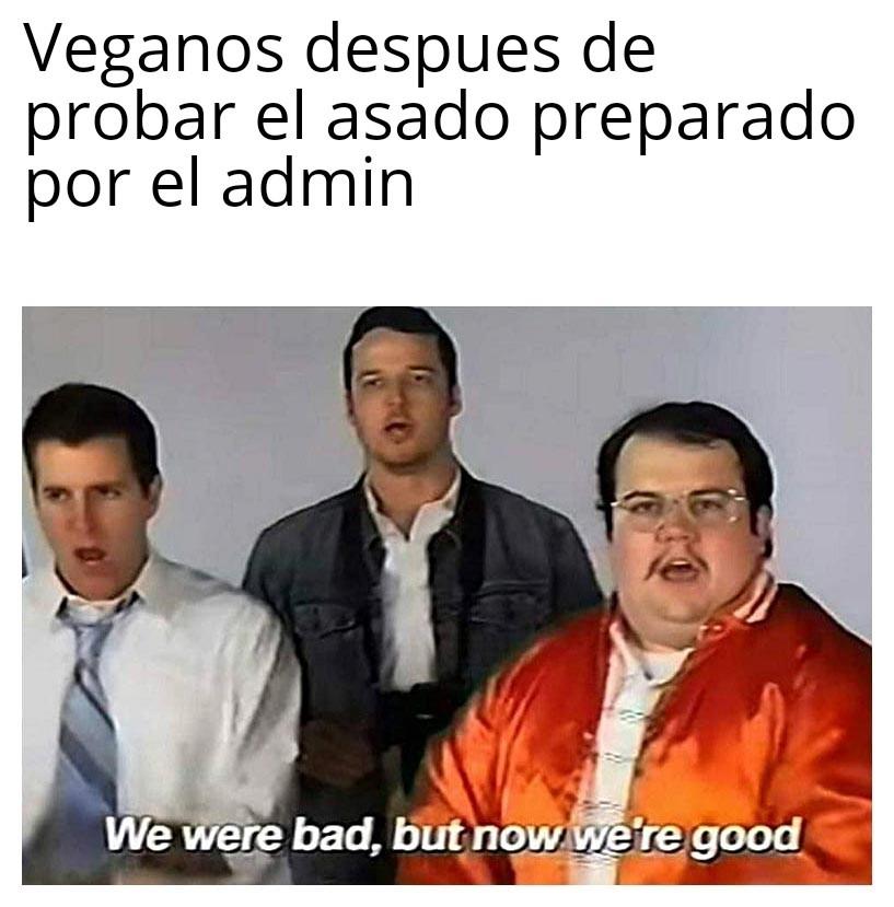 Veganos - meme