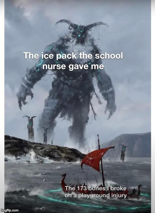 Ice pack - meme