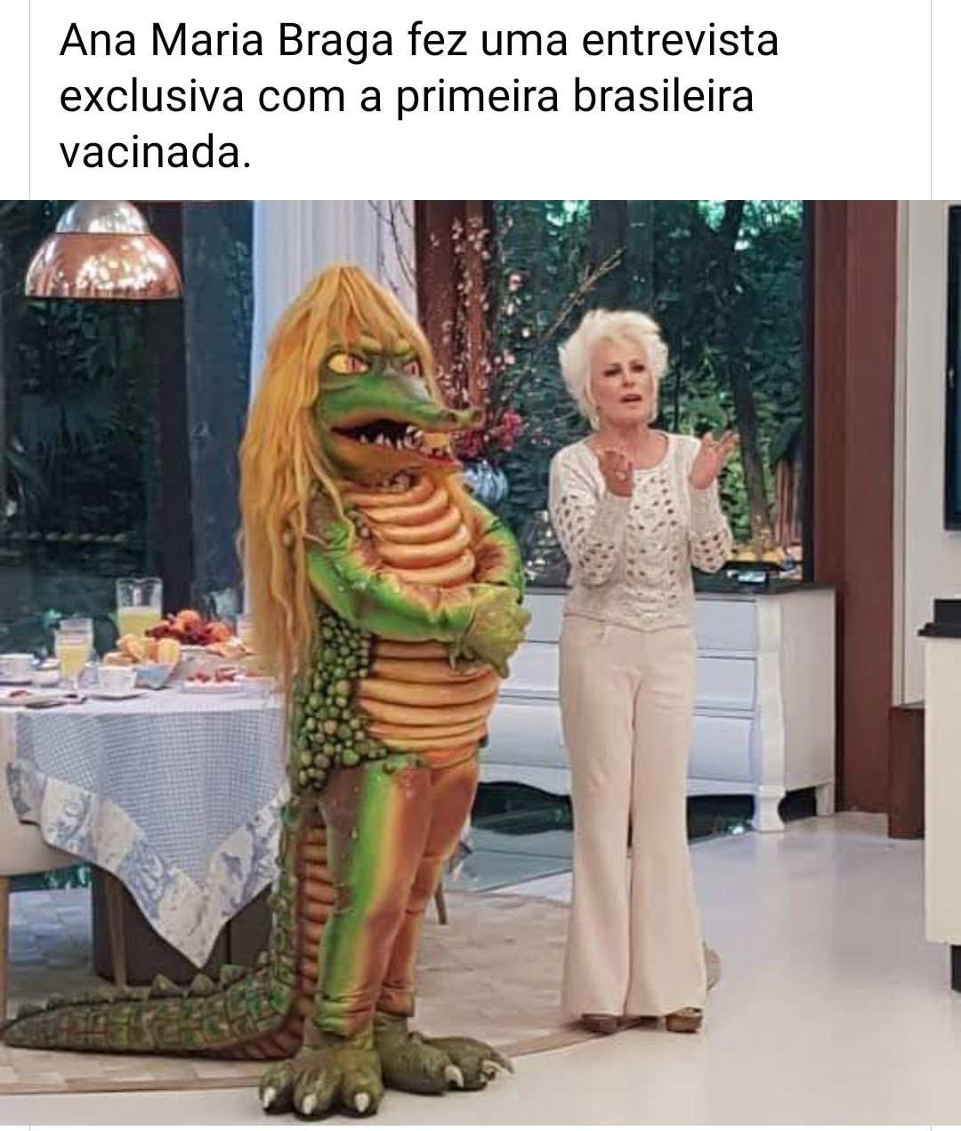 Viva a vacina!! - meme