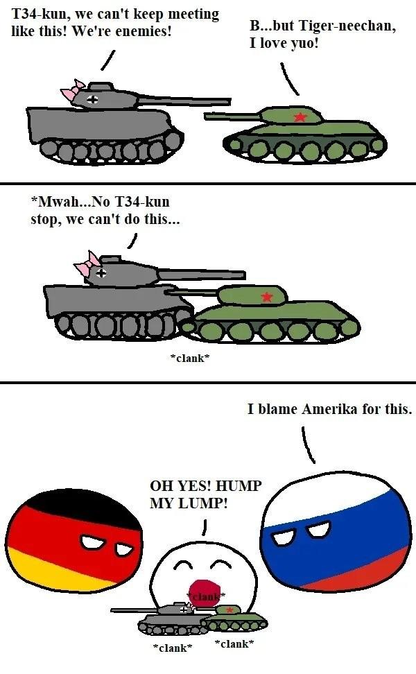 Tank Romance - meme