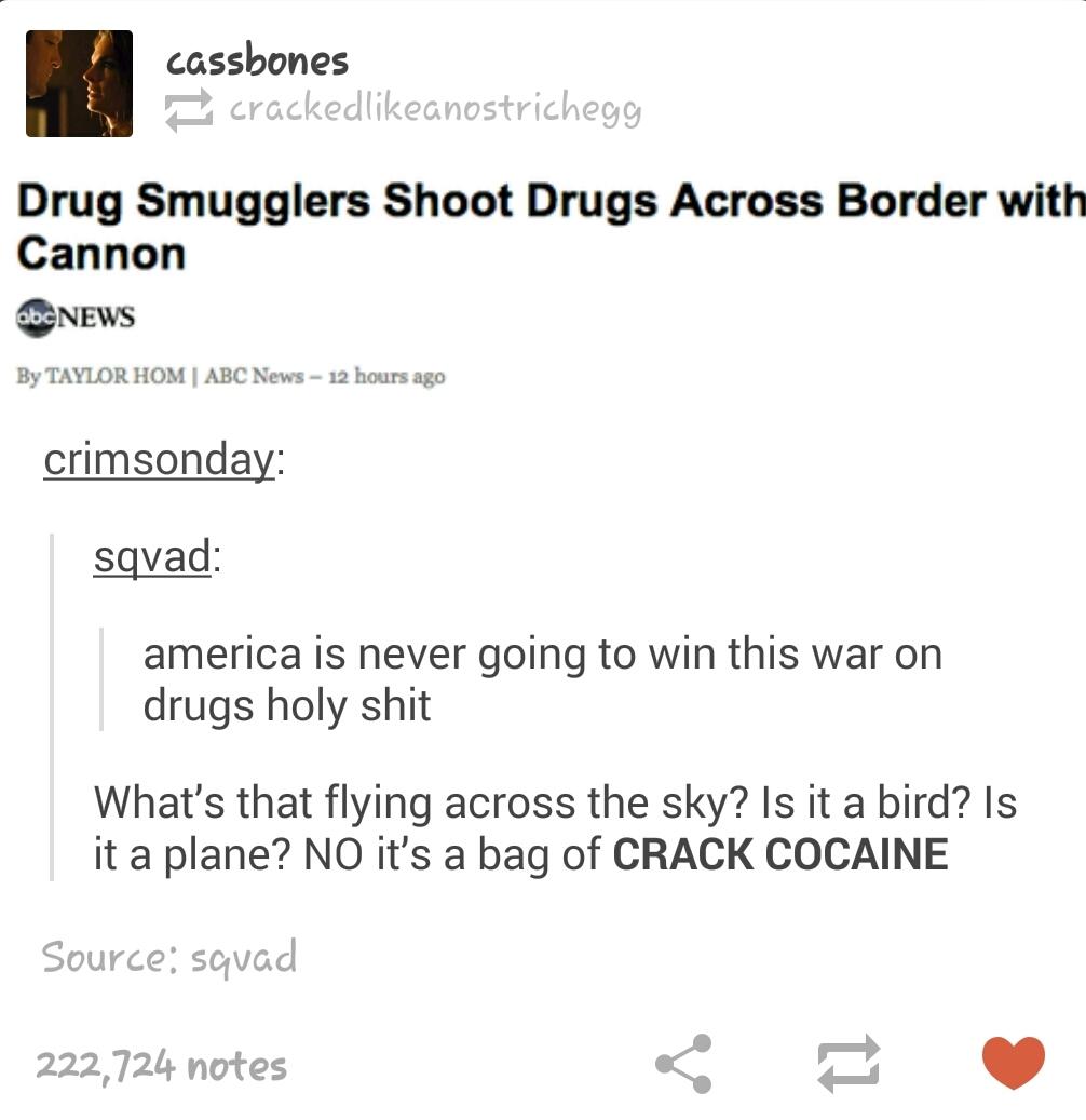 crack cocaine ! - meme
