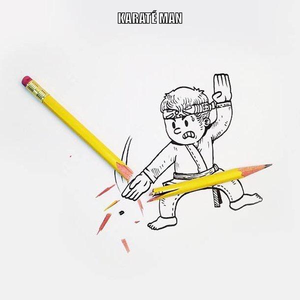 Karaté Man - meme